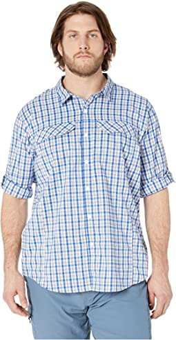 Big and Tall Silver Ridge Lite Plaid Long Sleeve Shirt
