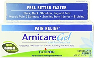 Boiron Arnicare Gel 2.6 Ounce Homeopathic Medicine for Pain Relief