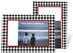 product image for Houndstooth 4x6 Photo Insert Note Cards - 24 Pack by Plymouth Cards