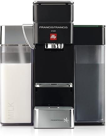 Francis Francis for Illy Y5 Milk Espresso and Coffee Machine Black