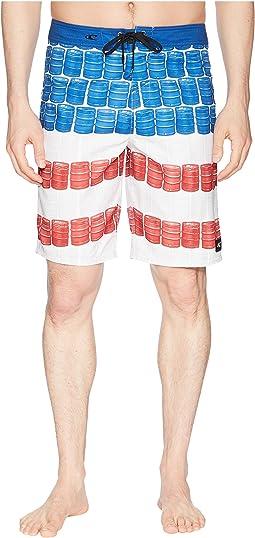 Keg Leg Boardshorts