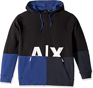A|X Armani Exchange Men's Graphic Split Hoodie