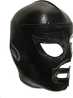 Maskmaniac Adult Lucha Libre Wrestling Mask (pro-fit) Costume Wear - Black