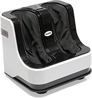 AGARO 33159 Relaxing Foot & Calf Massager with Rolling & Kneading Functions for Pain Relief & improving Blood Circulation ...