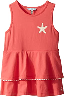 Double Peplum Jersey Tank Top (Toddler/Little Kids)
