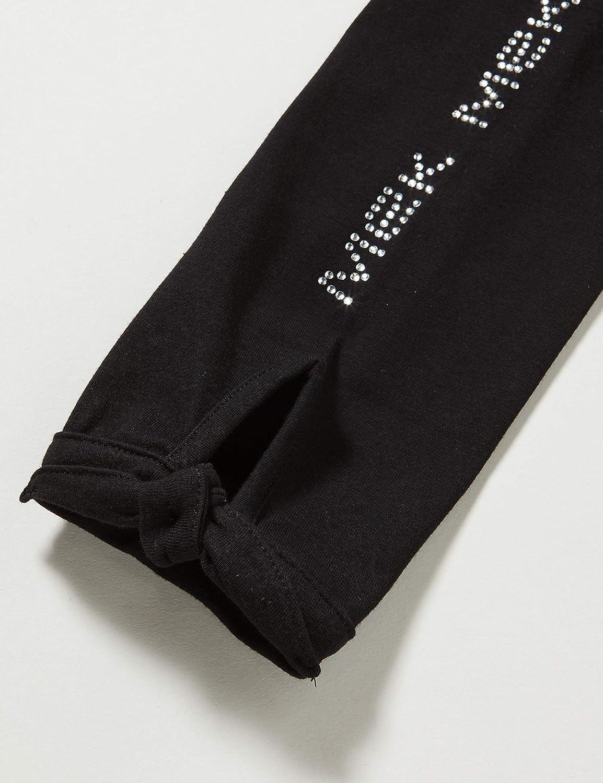 MEK M/ädchen Pescatore Logo Con Strass Jersey Stretch Shorts