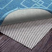 Veken Non-Slip 4 x 6 Ft Extra Thick Gripper for Any Hard Surface Floors, White