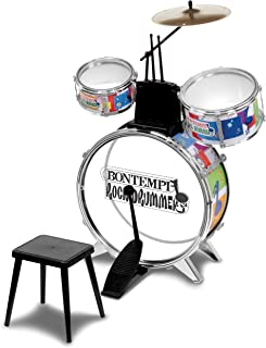 bontempi drum set with stool
