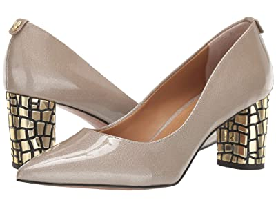 J. Renee Vaneeta (Taupe Patent) High Heels