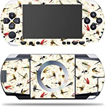 MightySkins Skin Compatible with Sony PSP – Fishing Flies | Protective, Durable, and Unique Vinyl Decal wrap Cover | Easy to Apply, Remove, and Change Styles | Made in The USA
