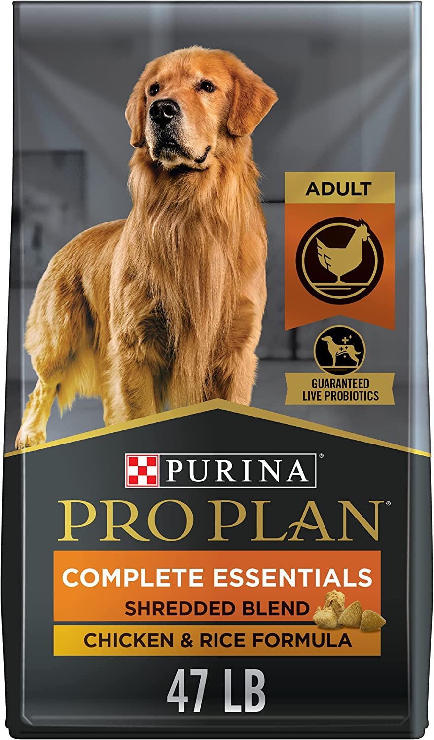 Popular Purina Pro Plan with New Free Shipping Probiotics Blend High Shredded Adu Protein