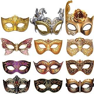 Prom//Palla//nozze. Stile Veneziano Nero Metallo Filigrana Maschera Ballo in maschera e Diamante