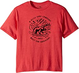 O'Neill Kids - Roamer Short Sleeve Tee Screens Imprint (Big Kids)
