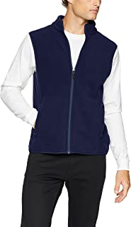 mens blue vest jacket
