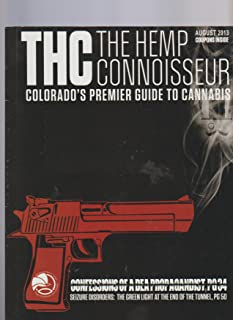 THC The Hemp Connoisseur Magazine August 2013