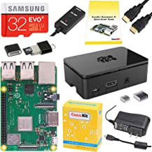 CanaKit Raspberry Pi 3 B+ (B Plus) Starter Kit (32 GB EVO+ Edition, Premium Black Case)
