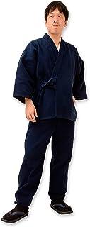 太刺子作務衣-日本製(IKISUGATA)和粋庵特製巾着付き