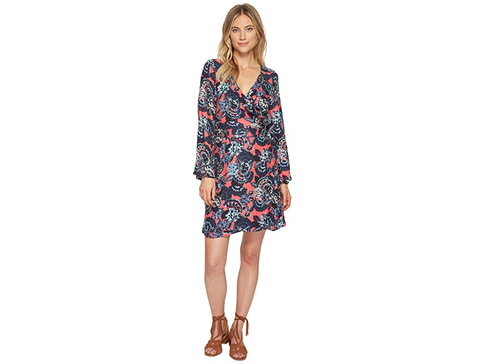 Roxy Small Hours Printed Dress (Rouge Red Mahna Mahna) Women