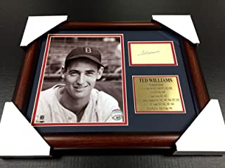 Best ted williams autograph Reviews