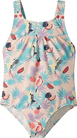 Vintage Tropical One-Piece (Toddler/Little Kids)