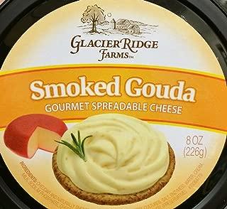 Glacier Ridge Farms Smoked Gouda Gourmet Spreadable Cheese 8oz (One Cup)