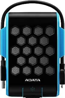 ADATA AHD720-2TU3-CBL - Disco duro externo robusto de 2 TB, alta velocidad USB 3.0, sensor G de impactos, resistente al agua, al polvo y a impactos de grado militar IP68, color azul