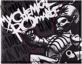 My Chemical Romance Black Parade Rock Grey ID & Card Bi-Fold Wallet