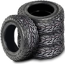 Set of 4 (FOUR) Mazzini Mud Contender Mud Tires - 35X12.50R20LT 121Q E (10 Ply)