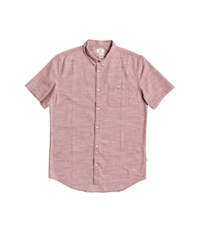 Quiksilver Firefall Short Sleeve (Redwood) Men