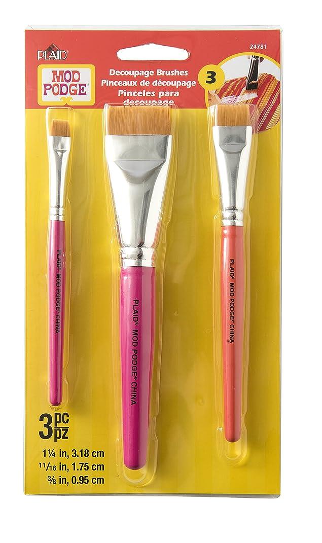Mod Podge 24781 Furniture Brush Set - 3 brush set