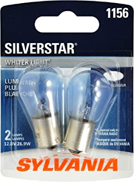 Sylvania Premium LED Light 1156 Red Two Bulbs High Mount Stop 3rd Brake Replace