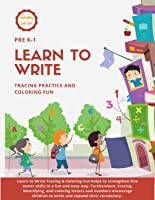 Learn to Write: 96 Pages of Tracing Practice and Coloring Fun