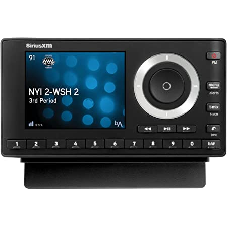 SiriusXM SXPL1V1 Onyx Plus Satellite Radio with Vehicle Kit, Receive 3 Months Free Service with Subscription – Enjoy SiriusXM Through your Car's In-Dash Audio System on this Dock & Play Radio