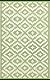 Best hometrends indoor outdoor rug green leaf Reviews