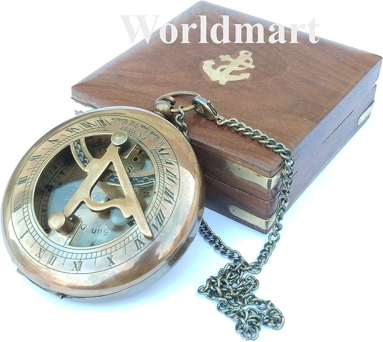 Max 63% OFF Worldmart Nautical Compass Ranking TOP2 Personalized Gift Mens Gro