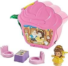 Fisher-Price Little People Disney Princess, Belle's Fold 'n Go Rose