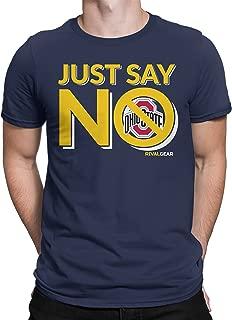 ohio state michigan tee shirts