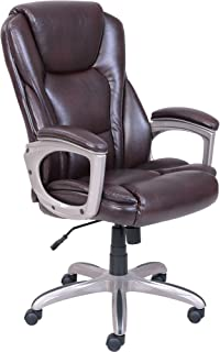 Serta Big & Tall Commercial Office Chair with Memory Foam (Brown)
