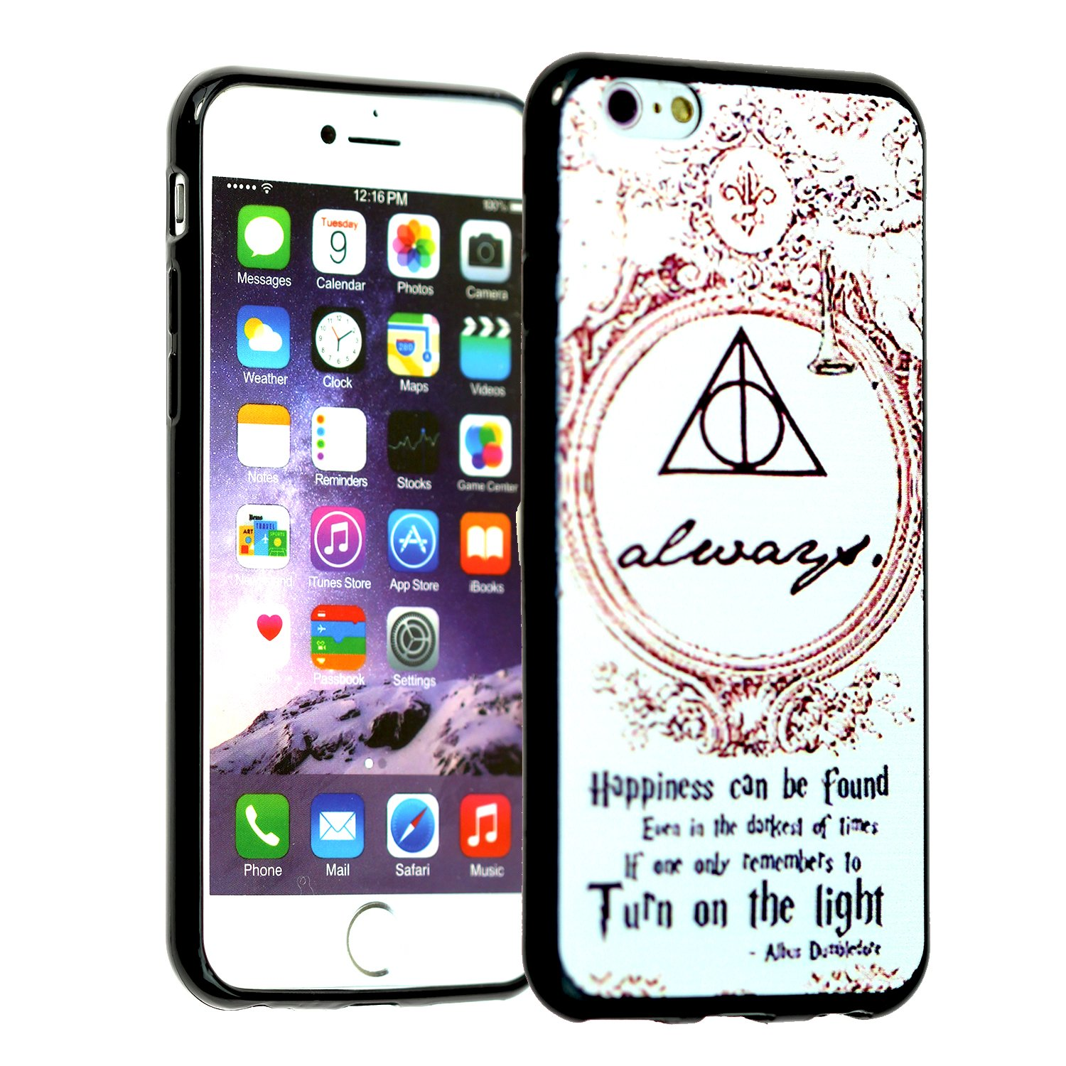 iPhone 6s Case, IMAGITOUCH iPhone 6 Harry Potter Always Anti-Scratch Shock Proof Soft Touch Slim Fit Flexible TPU Bumper Cover for iPhone 6 / 6s (4.7 inch) - Harry Potter Dumbledore Always TPU
