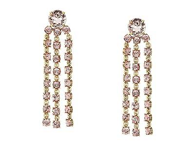 J.Crew York Chandelier Earrings (Pink) Earring