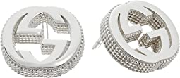 Gucci - Interlocking G Stud Earrings