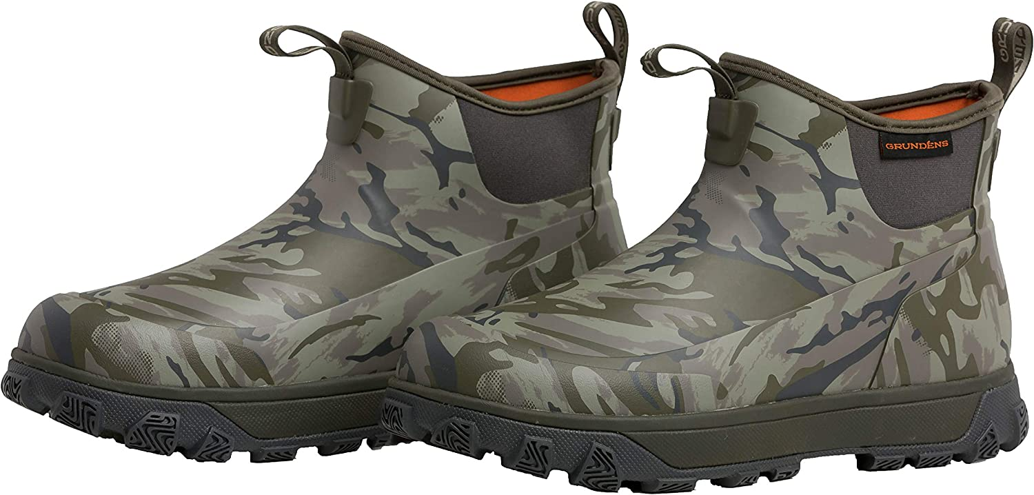 """Grundens Washington Very popular! Mall Men's Deviation 6"""" Waterproof Boot Ankle Durable"""