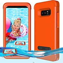 Temdan Samsung Galaxy Note 8 Floating Case Shockproof Lifejacket Case for Samsung Galaxy Note 8 -Orange