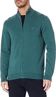Mustang Men's Edgar Zip Cardigan Sweater