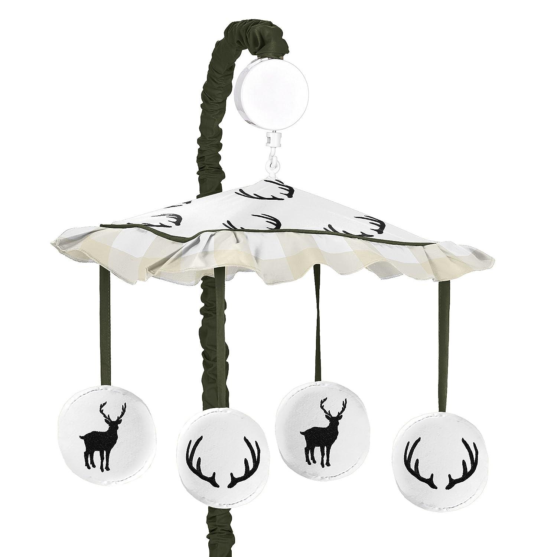 Award-winning store Sweet Jojo Designs Green shopping and Beige Plaid Deer Rustic Che Buffalo