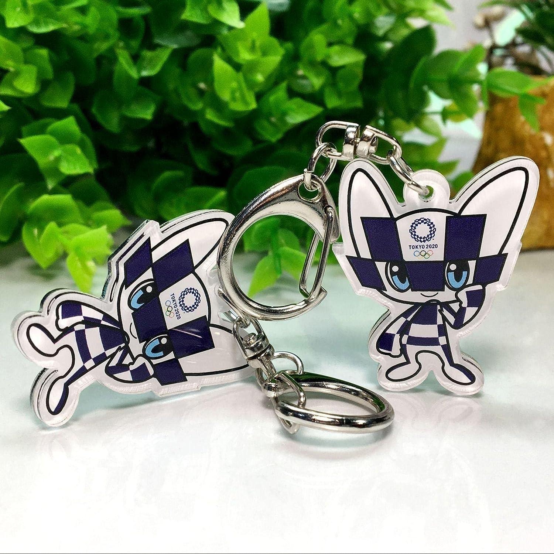 SZLGPJ Olympic Keychain Popular brand Easy-to-use in the world Mascot Acrylic Souv Car Pendant