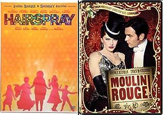 Moulin Rouge & Hairspray Musical DVD Set Special Edition 2 Disc & Bonus Videos Shimmy Shake