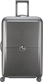 Delsey Paris Turenne 75 cm 4 Double Wheels Expandable Trolley Suitcase (Hardside) Silver (00162182111)