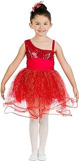 Danzcue Little Girls Sequin Ballet Tutu Dress Costume
