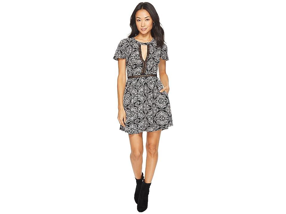 Volcom Even More Dress (Black Combo) Women